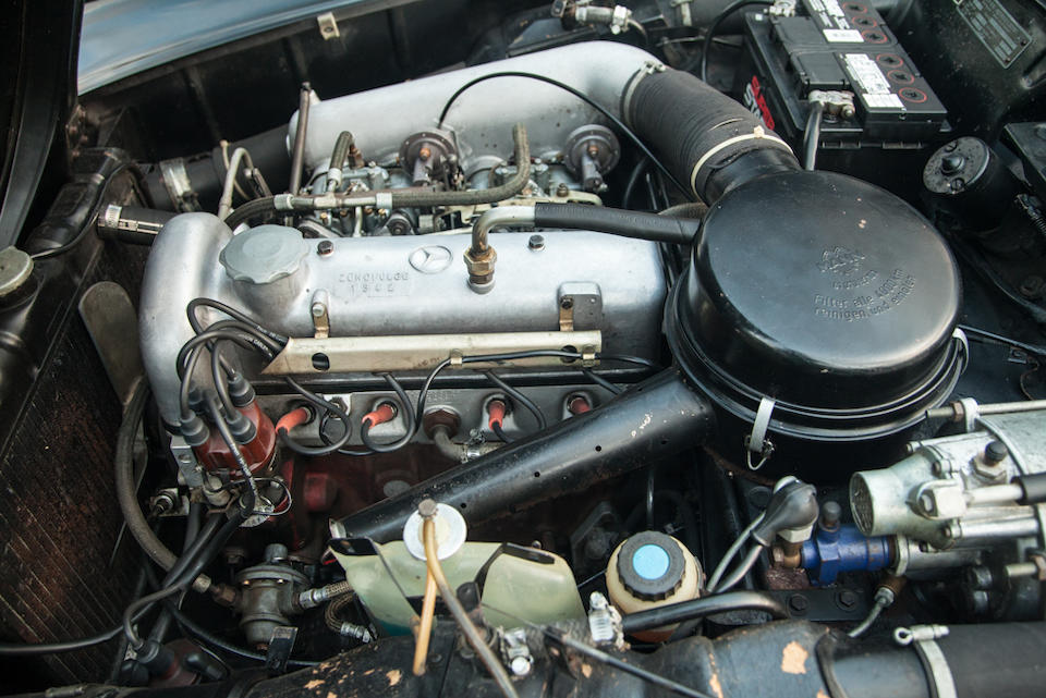 <b>1961 Mercedes-Benz 190SL Roadster  </b><br />Chassis no. 121040.10.020278  <br />Engine no. 121.921.10.020438