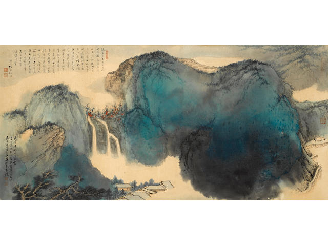 Sun Yunsheng (1918-2000) Splashed-ink Landscape