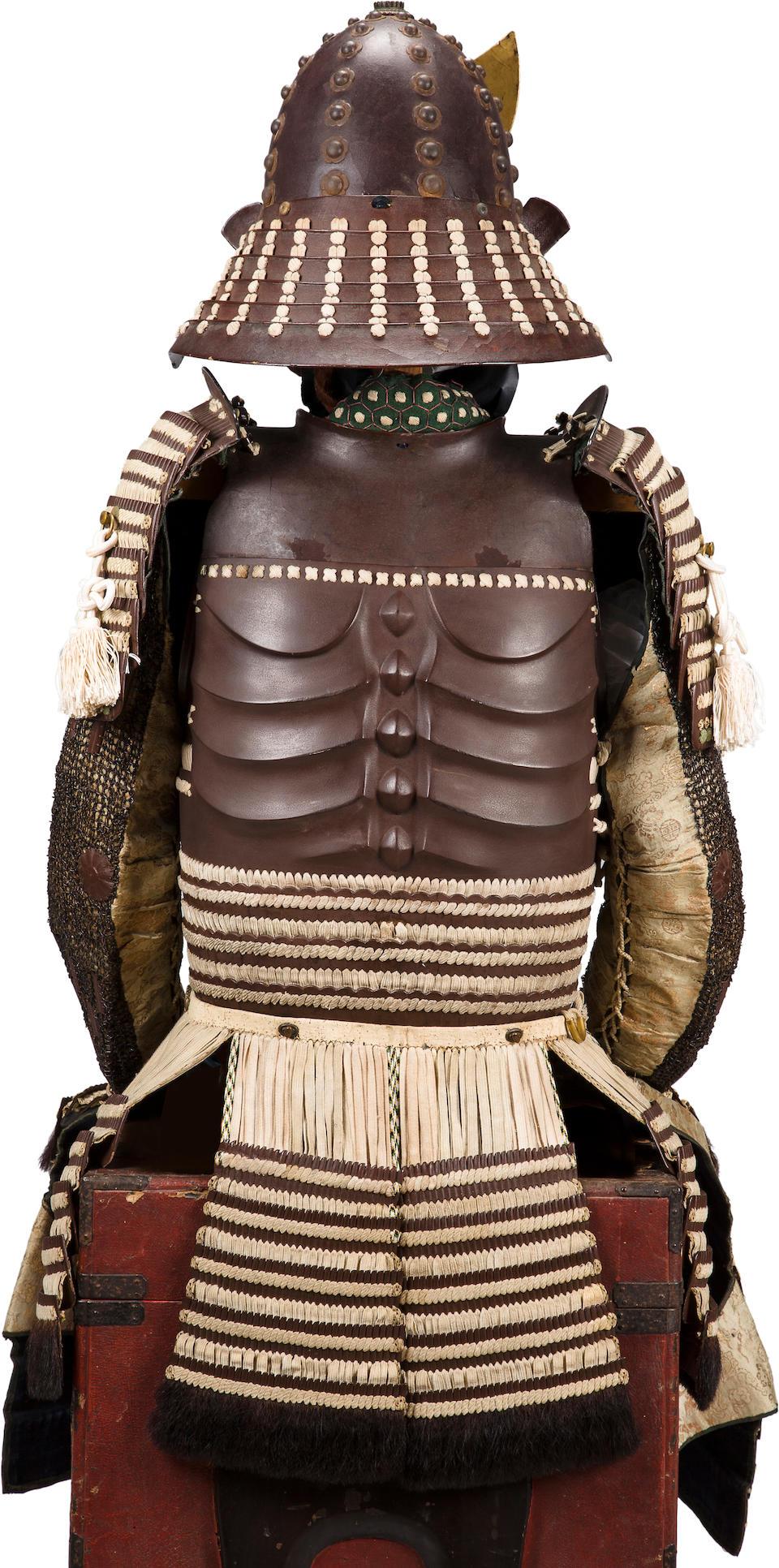 An armor with a hotoke do Edo period (19th century)