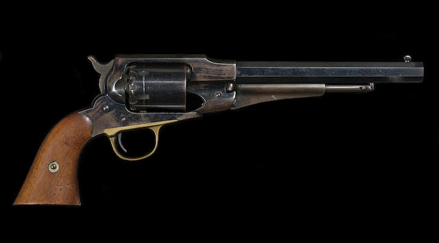 A fine U.S. Remington New Model Army percussion revolver
