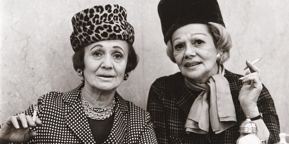 Diane Arbus (1923-1971); Two Ladies at the Automat, N.Y.C.;