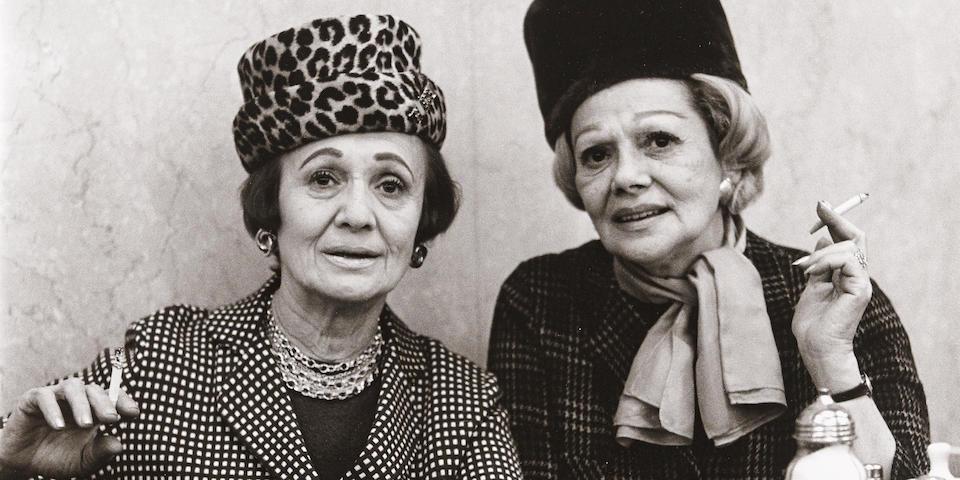 Diane Arbus (1923-1971); Two Ladies at the Automat, N.Y.C.;