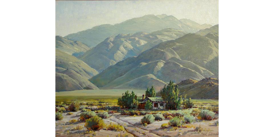 Paul A. Grimm (American, 1891-1974) Desert adobe 20 x 24in