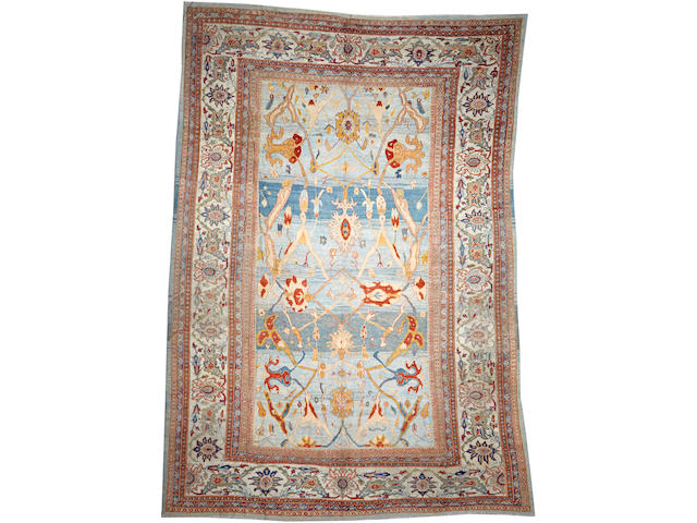 A Sultanabad carpet Central Persia size approximately 12ft. x 17ft. 2in.