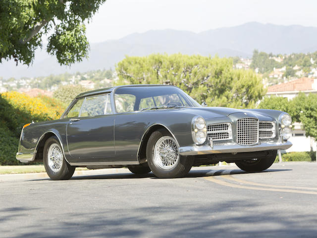 Fewer than 185 examples produced,1962 Facel Vega Facel II  Chassis no. CV36 Engine no. A141