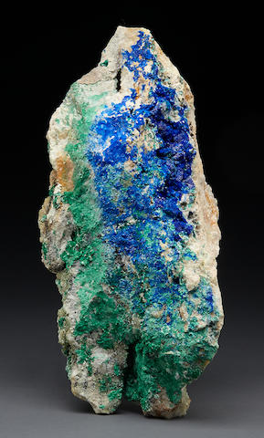 Linarite with Brocanthite