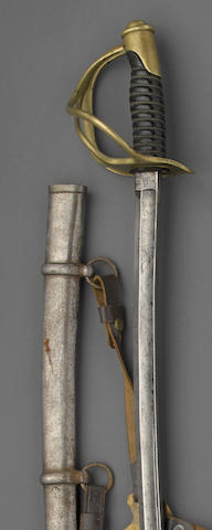 A U.S. Model 1860 cavalry saber by Roby