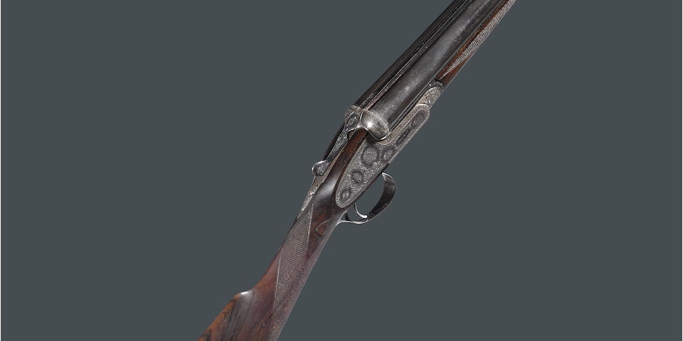 A cased 20 gauge sidelock ejector gun by Boss & Company