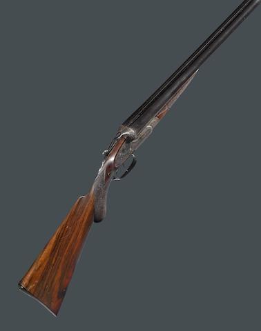 A 12 gauge W. & C. Scott & Son Monte Carlo B sidelock shotgun