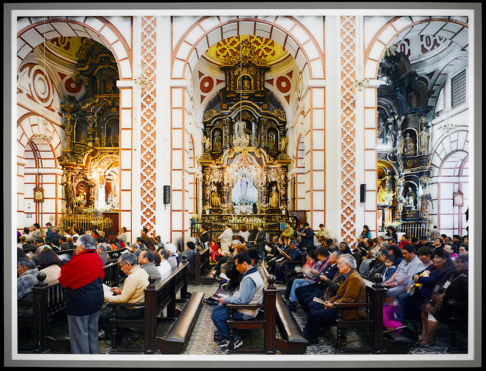 THOMAS STRUTH (b. 1954) Iglesia de San Francisco, Lima, Peru, 2003