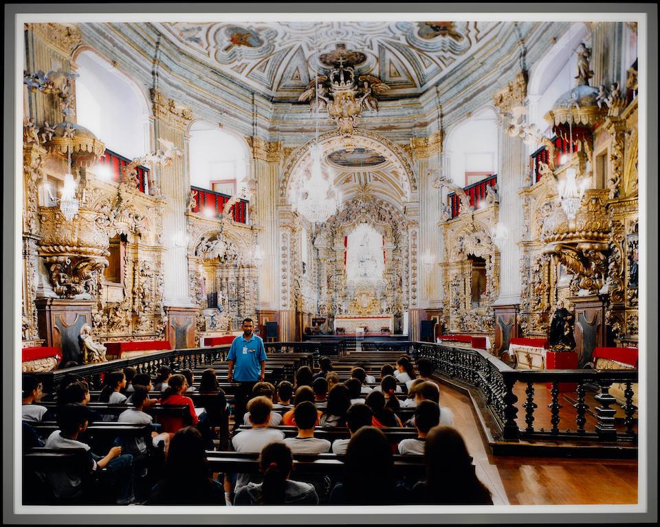 THOMAS STRUTH (b. 1954) Igreja Matriz de Nossa Senhora do Pilar, Ouro Preto, 2004
