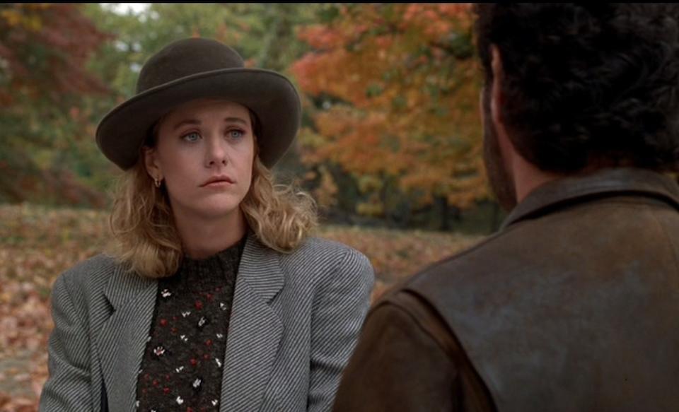 A Meg Ryan hat from When Harry Met Sally