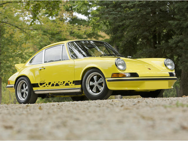 1973 Porsche  911 RS 2.7  Chassis no. 9113600802 Engine no. 6630801
