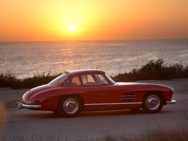 The ex-Rt Hon Lord O'NeillExceptionally restored by Scott Grundfor,1955 Mercedes-Benz 300SL Gullwing Coupe  Chassis no. 198.040.5500545 Engine no. 198.980.5500542