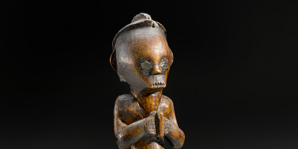 Fang Female Reliquary Figure, Gabon