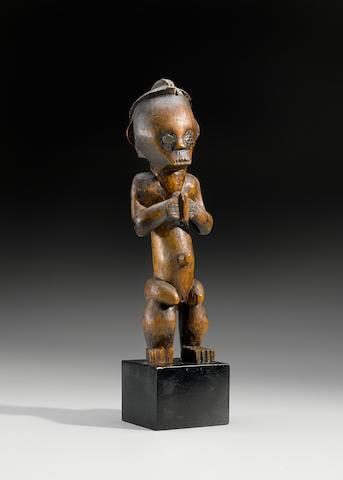 Fang Female Reliquary Figure, Gabon