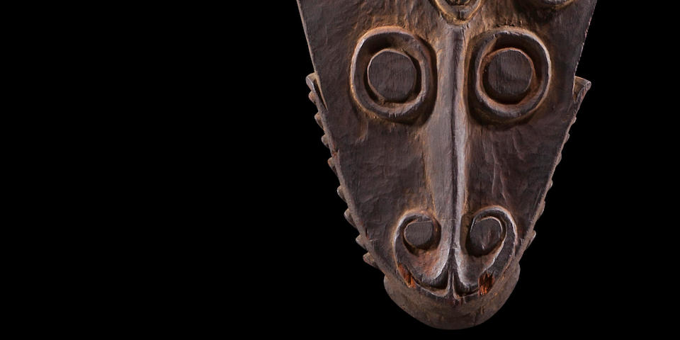 Rare Iatmul Suspension Fish Spirit Figure, Middle Sepik River, Papua New Guinea