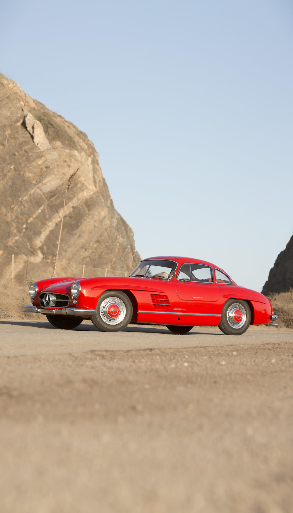 The ex-Rt Hon. Lord O'Neill – Prime Minister of Northern Ireland,1955 MERCEDES-BENZ  300SL GULLWING COUPE  Chassis no. 198.040.5500545 Engine no. 198.980.5500542