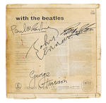 A Beatles-signed copy of a With The Beatles album