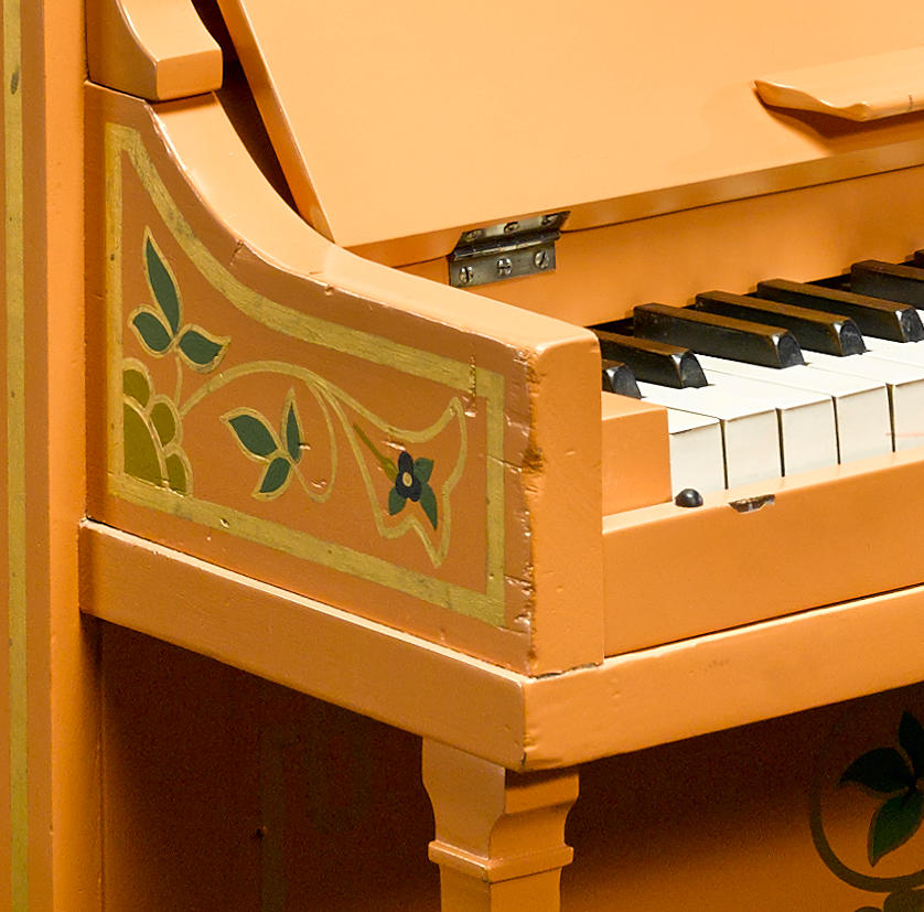 """The piano from Casablanca on which Sam plays """"As Time Goes By"""""""