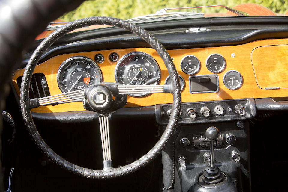 Offered from the Ardon 'Ardie' Overby Estate,1965 Triumph TR4A  Chassis no. CTC 61491 L Engine no. C161464E