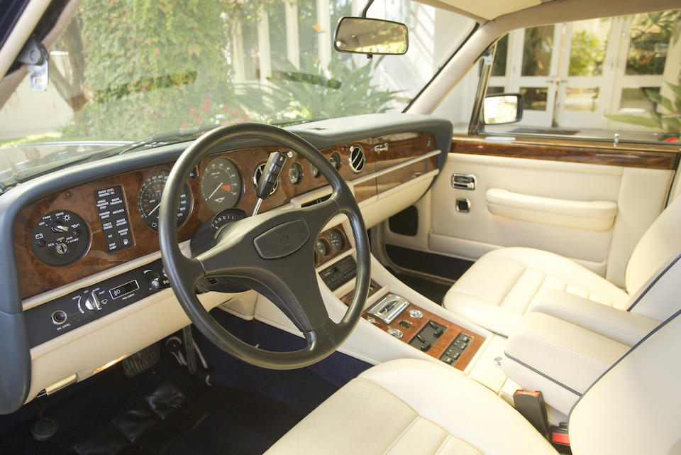 Offered from the William M. Keck Estate,1988 Bentley Turbo R Sports Sedan  Chassis no. SCBZR03BXKCX25376