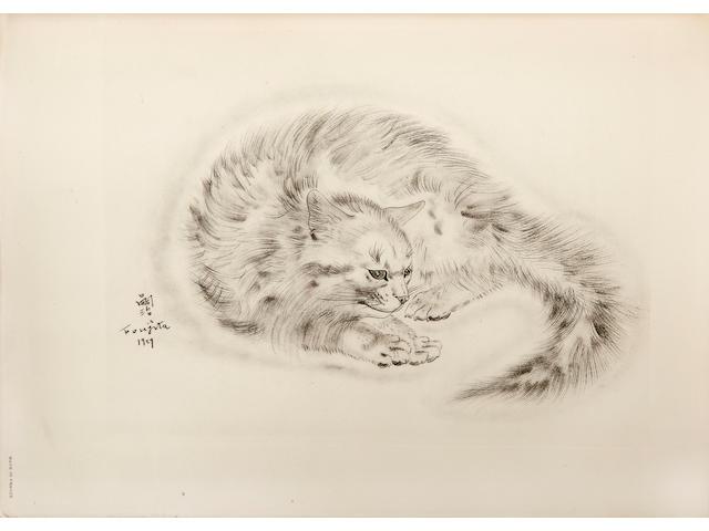 FOUJITA, TSUGUHARU, illustrator. JOSEPH, MICHAEL. A Book of Cats. New York: Covici Friede, 1930.