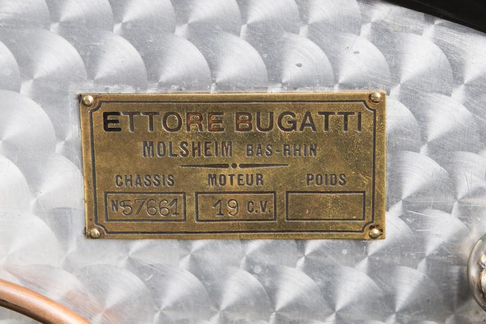 1938 Bugatti Type 57 Roadster  Chassis no. 57661 Engine no. 25C