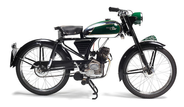 Bonhams : c.1950 Ducati 60 Sport Frame no. 72*00916 Engine no. X3876