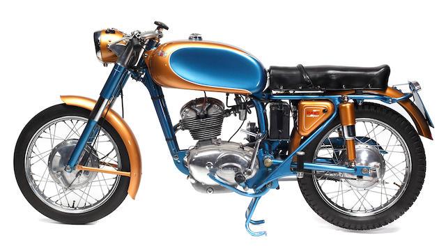 Bonhams : 1962 Ducati 125 Sport Frame no. 203235 Engine no. 200044