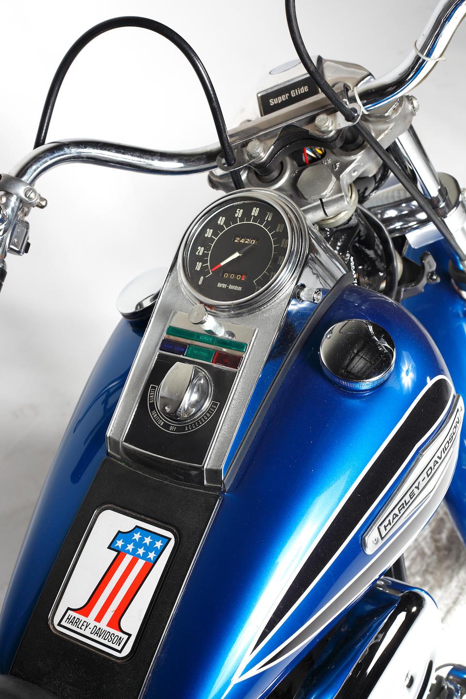 "1971 Harley-Davidson FX Super Glide ""Boattail"" Frame no. 2C48741H1"