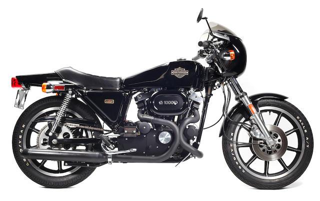 1978 Harley-Davidson XLCR Café Racer Frame no. 7F24587H8 Engine no