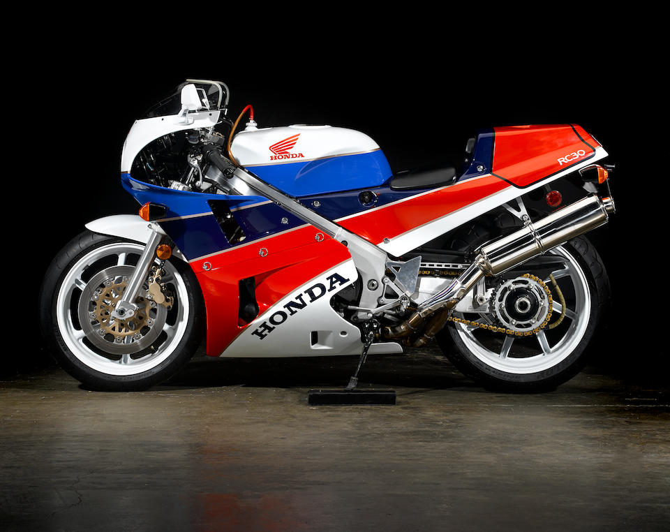 Only 740 miles from new,1990 Honda RC30 Frame no. JH2RC3000LM200204