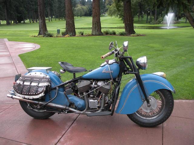 1948 Indian  Chief Frame no. 348 1892 Engine no. CDH1892B