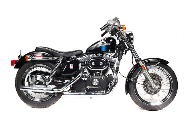 Original and unrestored with just 89 miles,1973 Harley-Davidson XLH1000 Sportster Frame no. 3A45652H3 Engine no. 3A45652HA