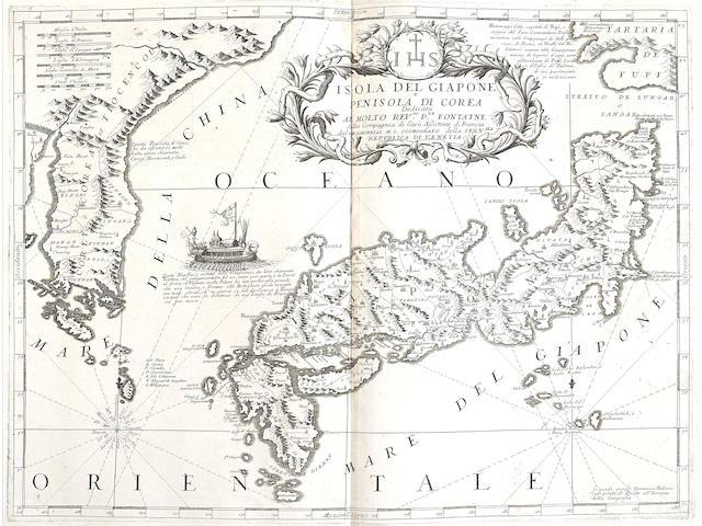 CORONELLI, VICENZO MARIA. 1650-1718. [Atlante Veneto.] [Venice: Coronelli, 1696-97.]