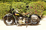 The ex-Steve McQueen,1936 Indian Chief Engine no. CDG9511