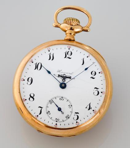 A Duesenberg branded Howard  pocketwatch, American, circa 1930s,