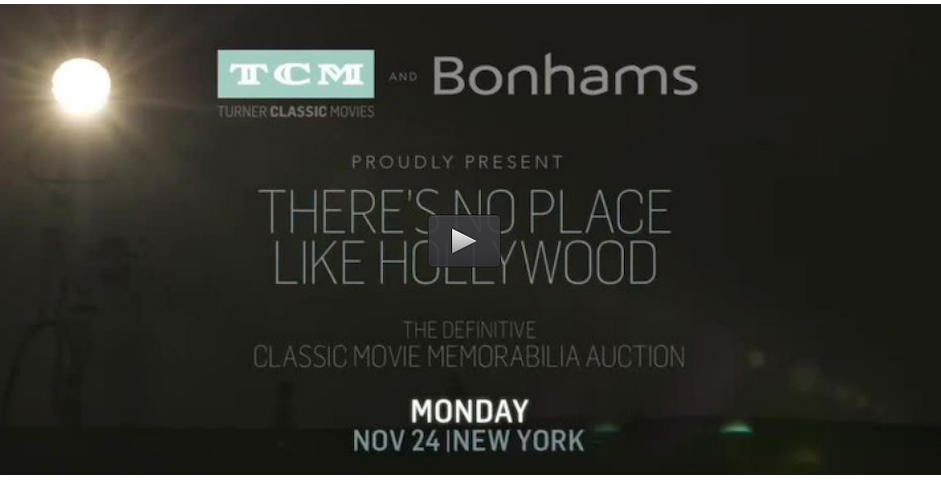 TCM Presents... There's No Place Like HollywoodThe Definitive Classic Movie Memorabilia Auction