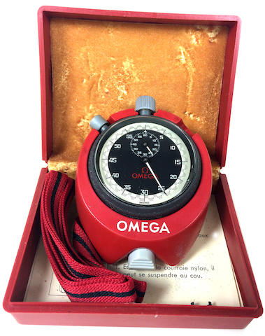 An Omega MG6309 stopwatch,