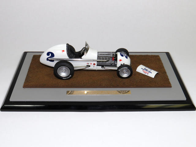 A 1:25 scale 1956 Kuzma-Offy, Jimmy Bryan's 'Dean Van Lines Special' The 1st USAC National Champion,