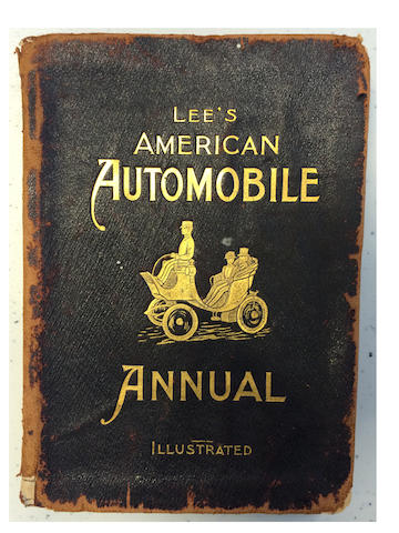 Lee's American Automobile Annual, illustrated,