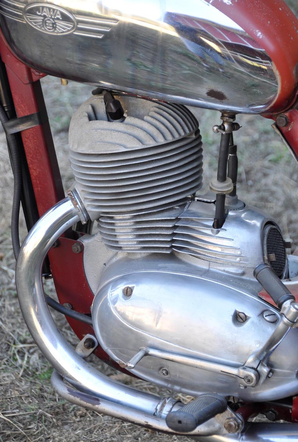 1957 Jawa 250cc ISDT Replica Engine no. S353-000103
