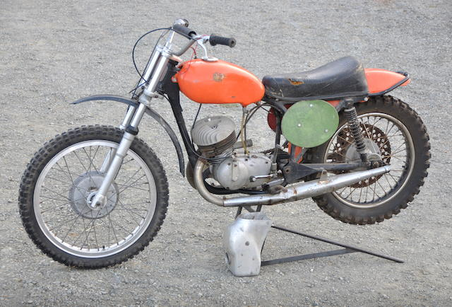 c.1965 CZ 250 Motocrosser Engine no. 200913