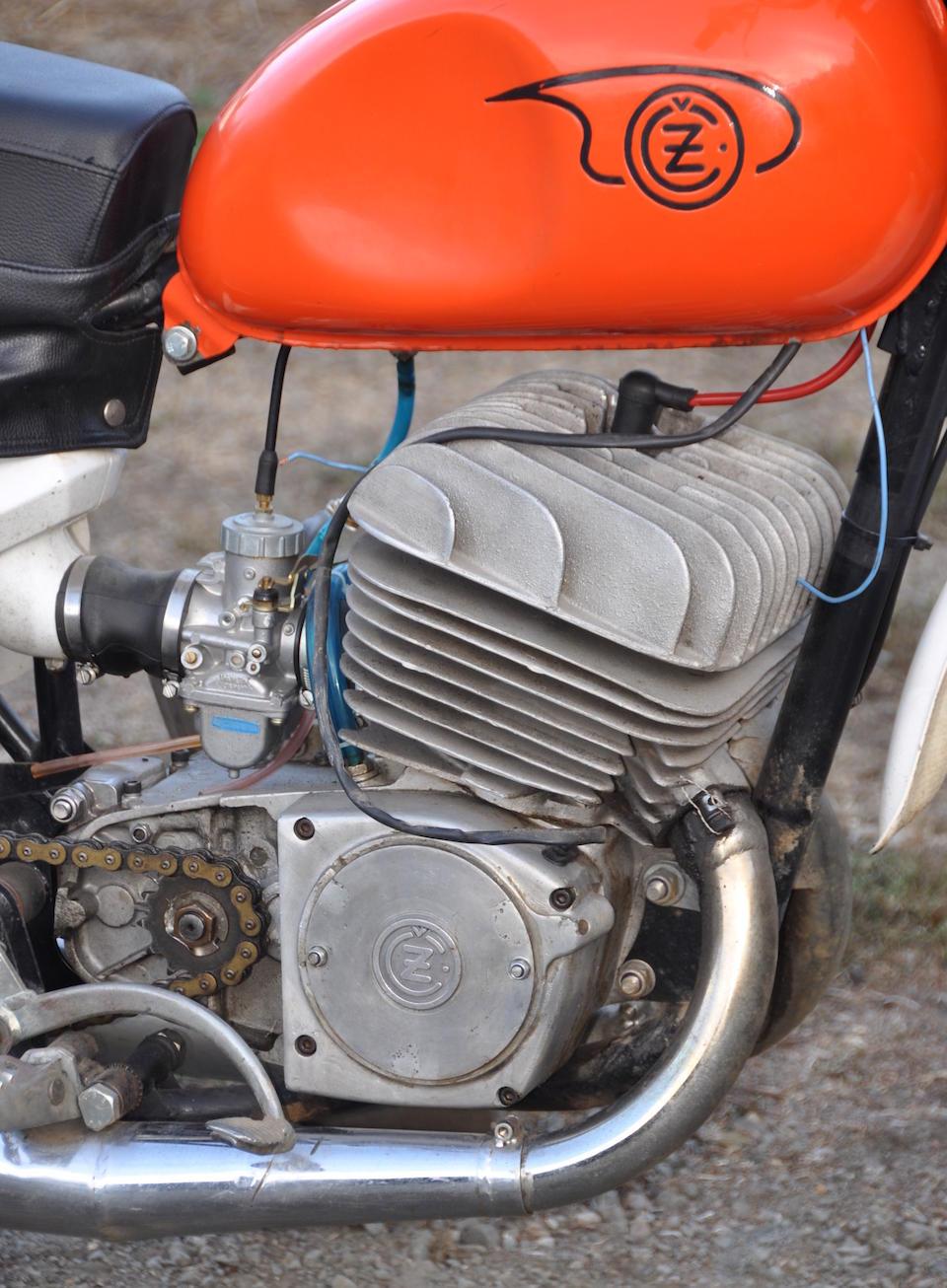 "c.1966 CZ 360 ""Twin Port"" Motocrosser"