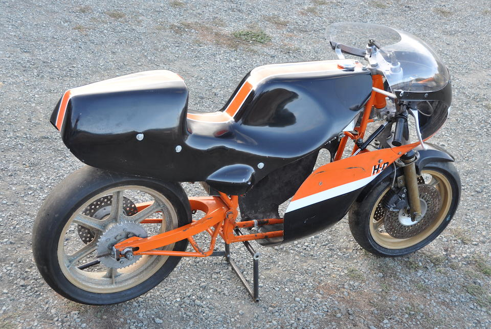 c.1980 Harley-Davidson Roadracer Rolling Chassis Project