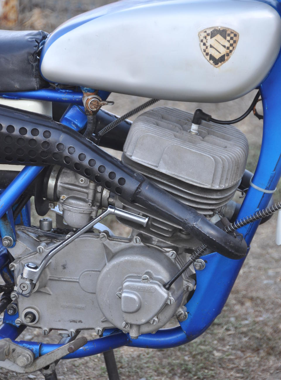 Japan's first production MX racer,1968 Suzuki RH67 Frame no. TM250-10113 Engine no. TM250-10113