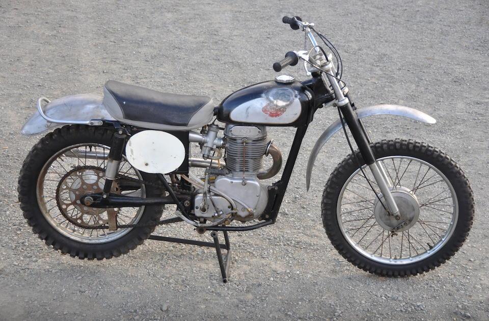 Rare Czechoslovakian four-stroke motocrosser,c.1959 ESO  500 Frame no. 1625 Engine no. 500325/196