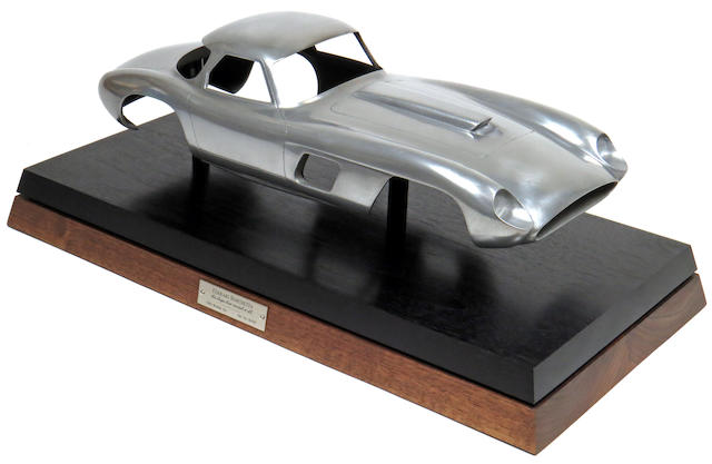 "A 1:12 scale sculpture of a Ferrari 375 MM ""Roberto Rossellini"" by Marshall Buck, made in the U.S.A."