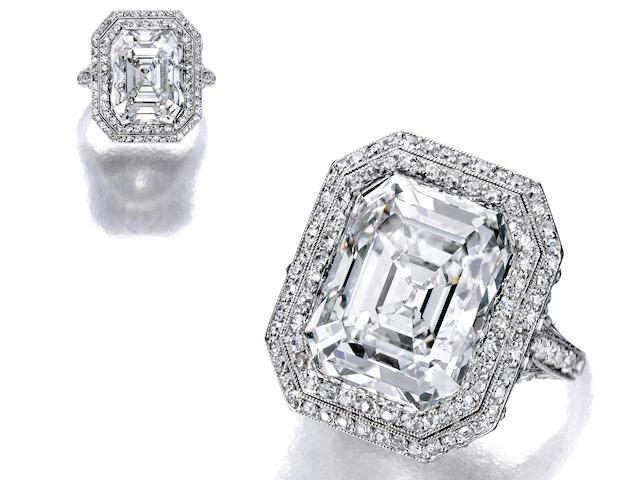 A diamond ring, Cartier